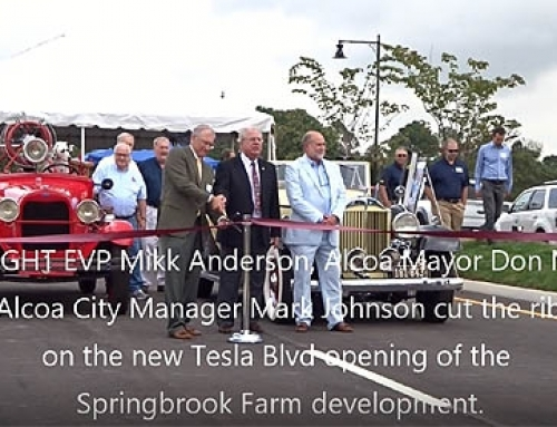 Springbrook Farm Development Ribbon Cutting